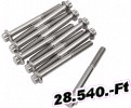 Diamond engineering csavar 12PT 1/4-20X2 1/2 10PK Fitting, csőbilincs, dió, bowdenvég