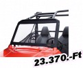Classic accessories szélvédő RZR Windshield/Universal Atv Type