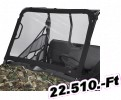 Classic accessories szélvédő Rhino fekete Windshield/Universal Atv Type