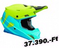 Thor HLMT SECTOR LEVL BL/LM 2X OFFROAD FULL FACE 1-PC ADULT HELMET