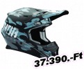 Thor HLMT SECTOR COVT MNGHT 2X OFFROAD FULL FACE 1-PC ADULT HELMET