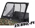 Classic accessories szélvédő MULE FX/DX fekete Windshield/Universal Atv Type