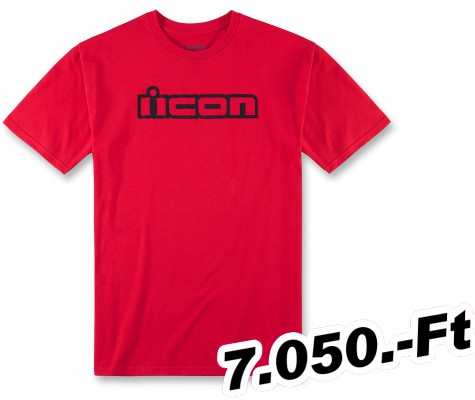 f72513b281 Férfi motoros póló ICON póló OGT piros MD - Motorosbolt