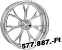 Performance machine (pm) Wheel/M/C Rear/Billet/Cast/Forged