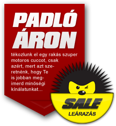 Motorosbolt akció