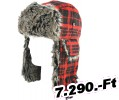 Zan headgear HAT TROOPER BUFF PLAID Sapka