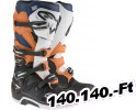 Alpinestars(mx) BOOT TECH7 BK/OR/WT 12 Felnőtt Off-road csizma