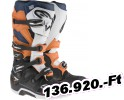 Alpinestars(mx) BOOT TECH7 BK/OR/WT 9 Felnőtt Off-road csizma