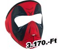 Zan headgear FULL MASK  Piros DAWN SMALL Maszk