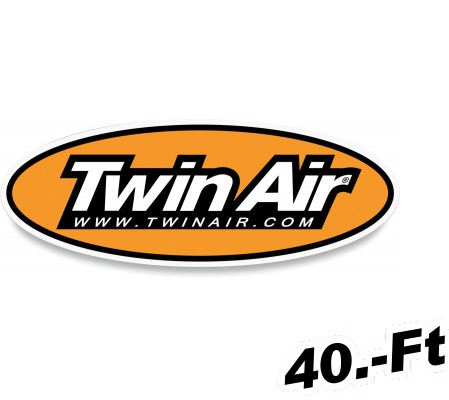 Matrica Twin air DECAL OVAL 81X42MM