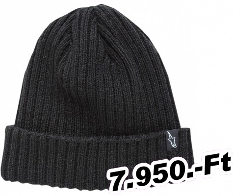 Sapka Alpinestars (casuals) BEANIE RECEIVING BK O/S