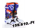 ALPINESTARS (Off-Road) TECH 10 INDY WH/BL/OR 9 Felnőtt Off-road csizma