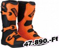 Moose racing soft-goods csizma S18Y M1.3 BK/OR 2 Ifjúsági Off-road csizma