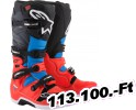 Alpinestars(mx) TECH 7 OFFROAD csizma RED/CYAN/GRAY/BLACK 16 Felnőtt Off-road csizma