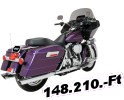 Python/drag special MUFFLERS SCAL 95-16 FL MUFFLERS FOR HARLEY