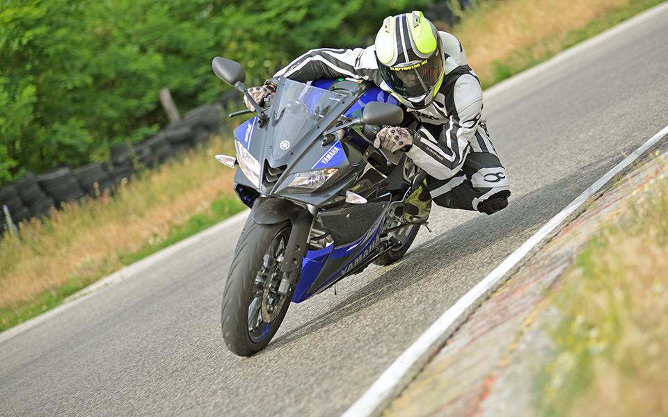 Nem a méret a lényeg! Yamaha YZF R125 használt teszt